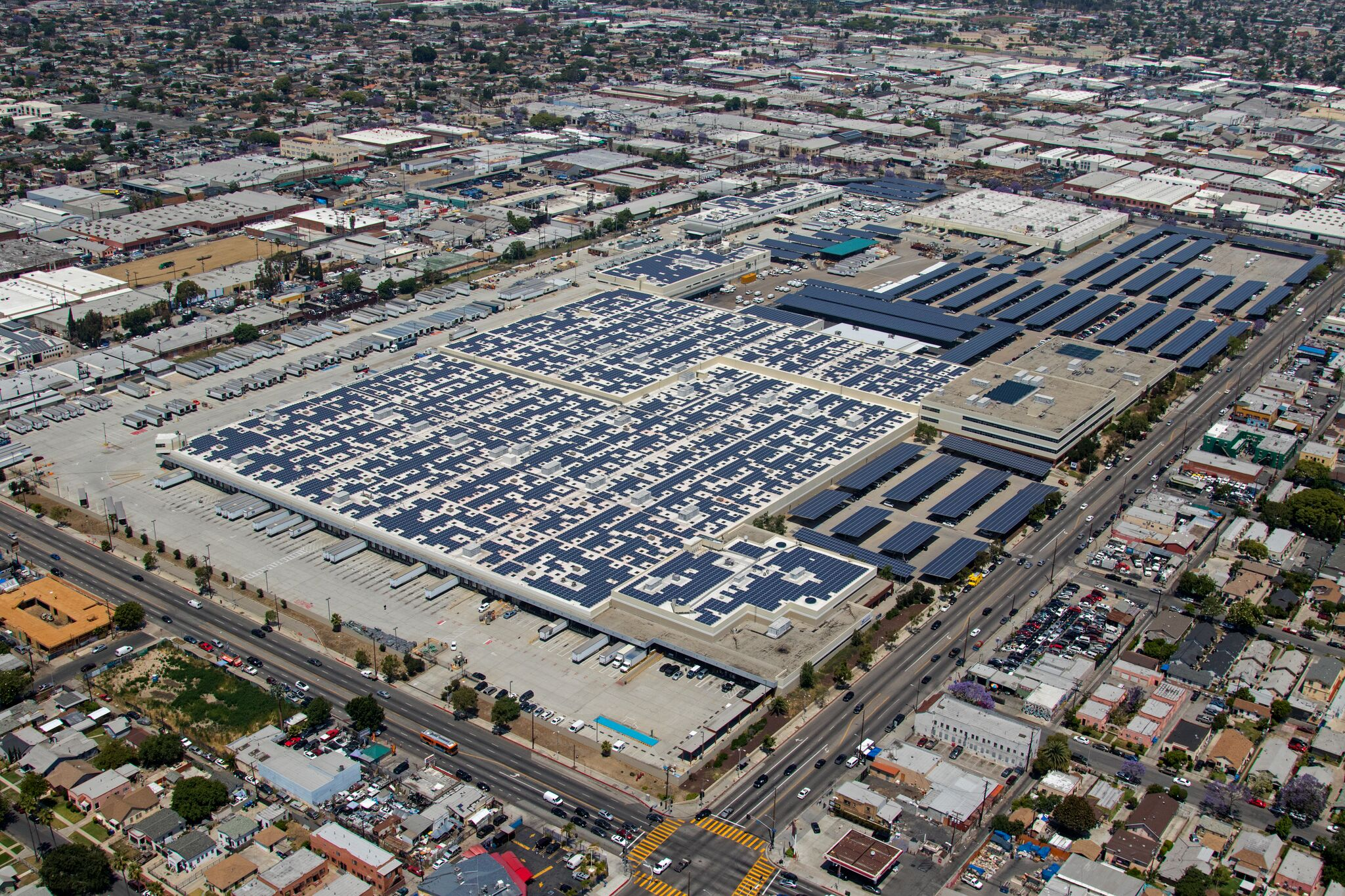 USPS Facility in LADWP territory - True Green Capital